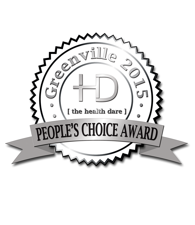 People's Choice Awards in Greenville SC The Health Dare